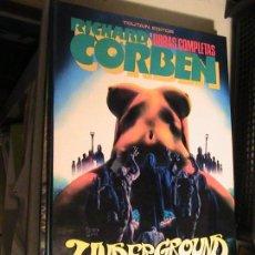 Cómics: RICHARD CORBEN OBRAS COMPLETAS 3. UNDERGROUND 3. TOUTAIN, 1985.. Lote 153738078