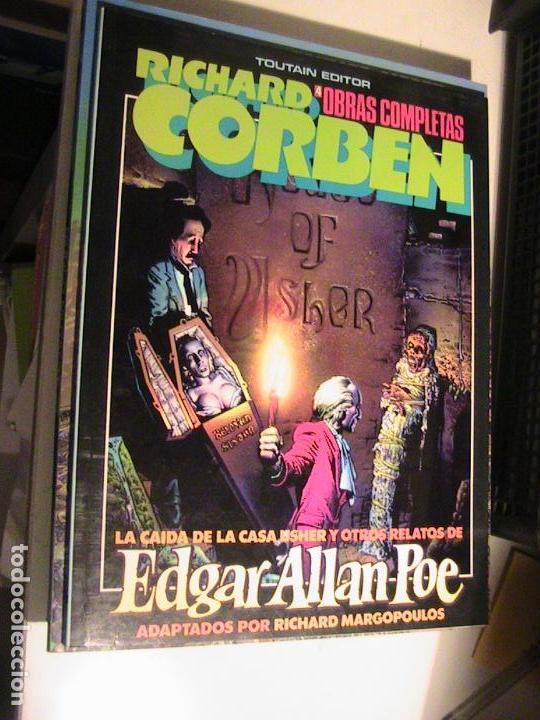 RICHARD CORBEN. OBRAS COMPLETAS 4. EDGAR ALLAN POE. TOUTAIN, 1985. (Tebeos y Comics - Toutain - Álbumes)