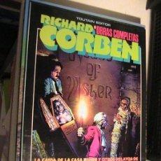Cómics: RICHARD CORBEN. OBRAS COMPLETAS 4. EDGAR ALLAN POE. TOUTAIN, 1985.. Lote 153739078