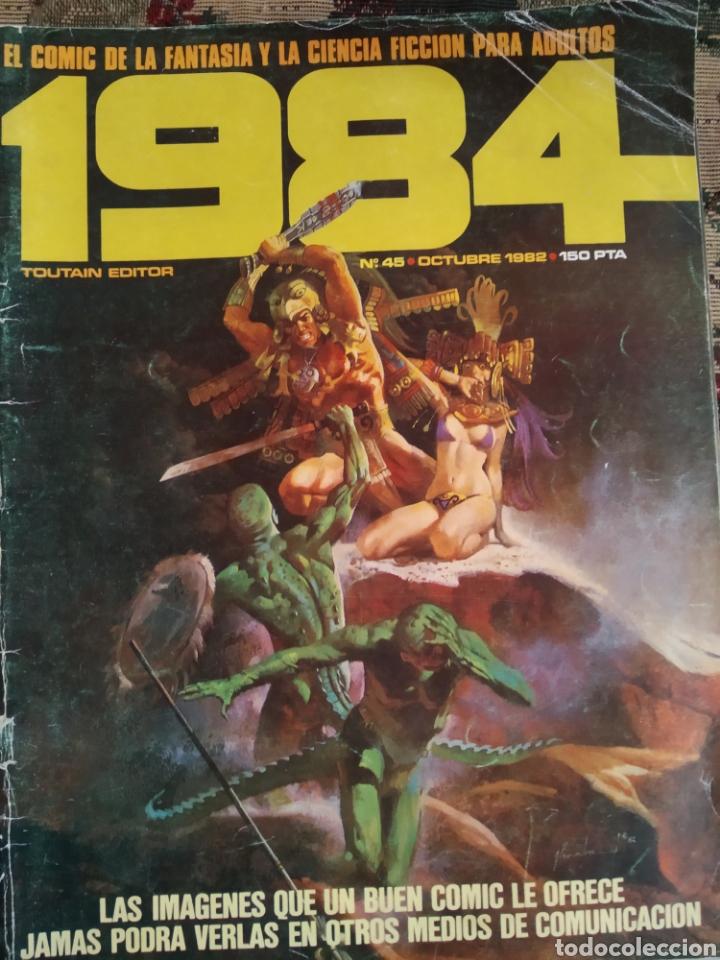 COMIC 1984 N. 45 (Tebeos y Comics - Toutain - 1984)