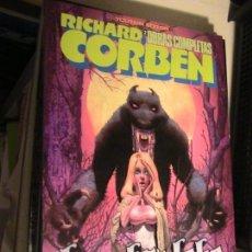 Comics : RICHARD CORBEN. OBRAS COMPLETAS 2. HOMBRE LOBO. TOUTAIN, 1984.. Lote 153858022