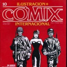 Cómics: ILUSTRACION + COMIX INTERNACIONAL. Nº 10. Lote 154132850