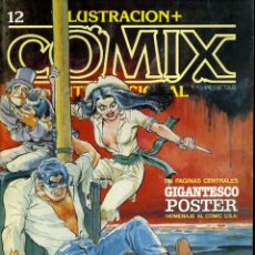 Cómics: ILUSTRACION + COMIX INTERNACIONAL. Nº 12. Lote 154132914