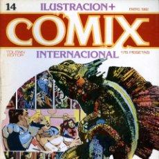 Cómics: ILUSTRACION + COMIX INTERNACIONAL. Nº 14. Lote 154133022