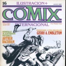 Cómics: ILUSTRACION + COMIX INTERNACIONAL. Nº 16. Lote 154133118