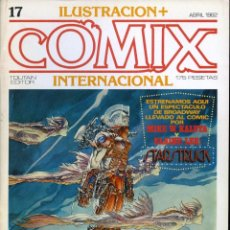Cómics: ILUSTRACION + COMIX INTERNACIONAL. Nº 17. Lote 154133230