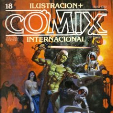 Cómics: ILUSTRACION + COMIX INTERNACIONAL. Nº 17. Lote 154133270