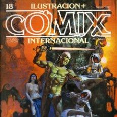 Cómics: ILUSTRACION + COMIX INTERNACIONAL. Nº 18. Lote 154133398