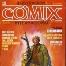 Cómics: ILUSTRACION + COMIX INTERNACIONAL. Nº 19. Lote 154133474