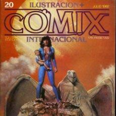 Cómics: ILUSTRACION + COMIX INTERNACIONAL. Nº 20. Lote 154133506