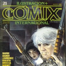 Comics: ILUSTRACION + COMIX INTERNACIONAL. Nº 21. Lote 154133578