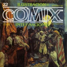 Cómics: ILUSTRACION + COMIX INTERNACIONAL. Nº 22. Lote 154133626