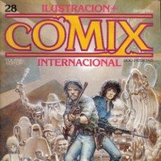 Cómics: ILUSTRACION + COMIX INTERNACIONAL. Nº 28. Lote 154133750