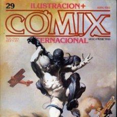 Cómics: ILUSTRACION + COMIX INTERNACIONAL. Nº 29. Lote 154133786
