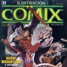 Cómics: ILUSTRACION + COMIX INTERNACIONAL. Nº 31. Lote 154133886