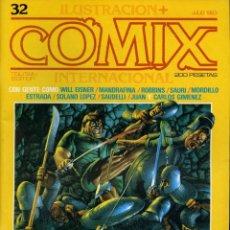 Cómics: ILUSTRACION + COMIX INTERNACIONAL. Nº 32. Lote 154133962