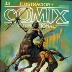 Fumetti: ILUSTRACION + COMIX INTERNACIONAL. Nº 33. Lote 154134094