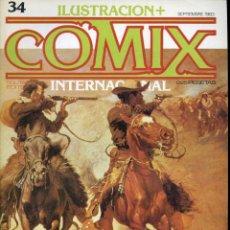 Cómics: ILUSTRACION + COMIX INTERNACIONAL. Nº 34. Lote 154134166