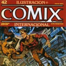 Cómics: ILUSTRACION + COMIX INTERNACIONAL. Nº 42. Lote 154134214