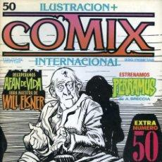 Cómics: ILUSTRACION + COMIX INTERNACIONAL. Nº 50. Lote 154134582