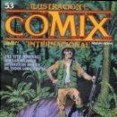 Cómics: ILUSTRACION + COMIX INTERNACIONAL. Nº 53. Lote 154134718