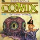 Cómics: ILUSTRACION + COMIX INTERNACIONAL. Nº 58. Lote 154134990