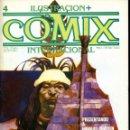 Cómics: ILUSTRACION + COMIX INTERNACIONAL. Nº 4. Lote 154159202