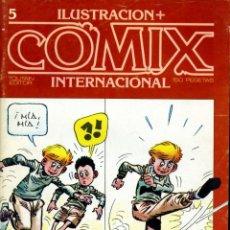 Cómics: ILUSTRACION + COMIX INTERNACIONAL. Nº 5. Lote 154159998