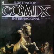 Cómics: ILUSTRACION + COMIX INTERNACIONAL. Nº 6. Lote 154160254