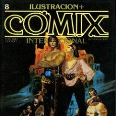 Cómics: ILUSTRACION + COMIX INTERNACIONAL. Nº 8. Lote 154160426
