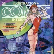 Cómics: ILUSTRACION + COMIX INTERNACIONAL. Nº 23. Lote 154160486
