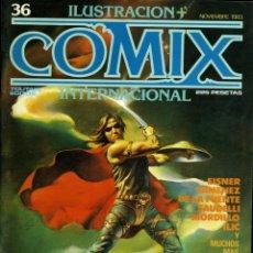 Cómics: ILUSTRACION + COMIX INTERNACIONAL. Nº 36. Lote 154160734