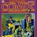 Cómics: ILUSTRACION + COMIX INTERNACIONAL. Nº 38. Lote 154160846