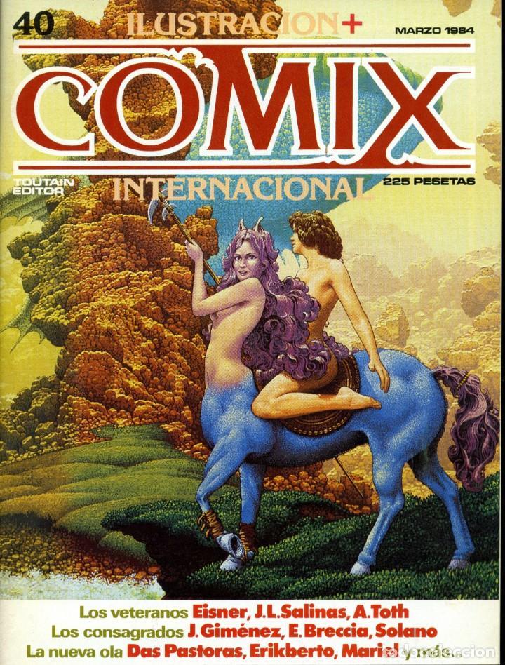 ILUSTRACION + COMIX INTERNACIONAL. Nº 40 (Tebeos y Comics - Toutain - Comix Internacional)