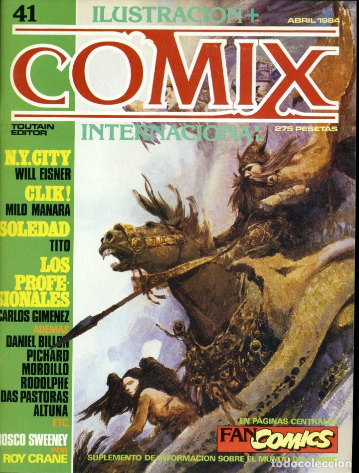 ILUSTRACION + COMIX INTERNACIONAL. Nº 41 (Tebeos y Comics - Toutain - Comix Internacional)