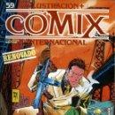 Cómics: ILUSTRACION + COMIX INTERNACIONAL. Nº 59.. Lote 154161314