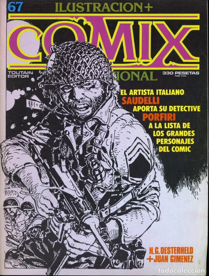 ILUSTRACION + COMIX INTERNACIONAL. Nº 67. (Tebeos y Comics - Toutain - Comix Internacional)