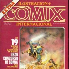 Cómics: ILUSTRACION + COMIX INTERNACIONAL. Nº EXTRA. Lote 154162678