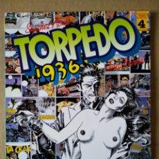 Cómics: TORPEDO 1936 TOMO N°4 (TOUTAIN, 1986). POR SÁNCHEZ ABULÍ Y JORDI BERNET. 'UN SALARIO DE MIEDO'. Lote 154362985