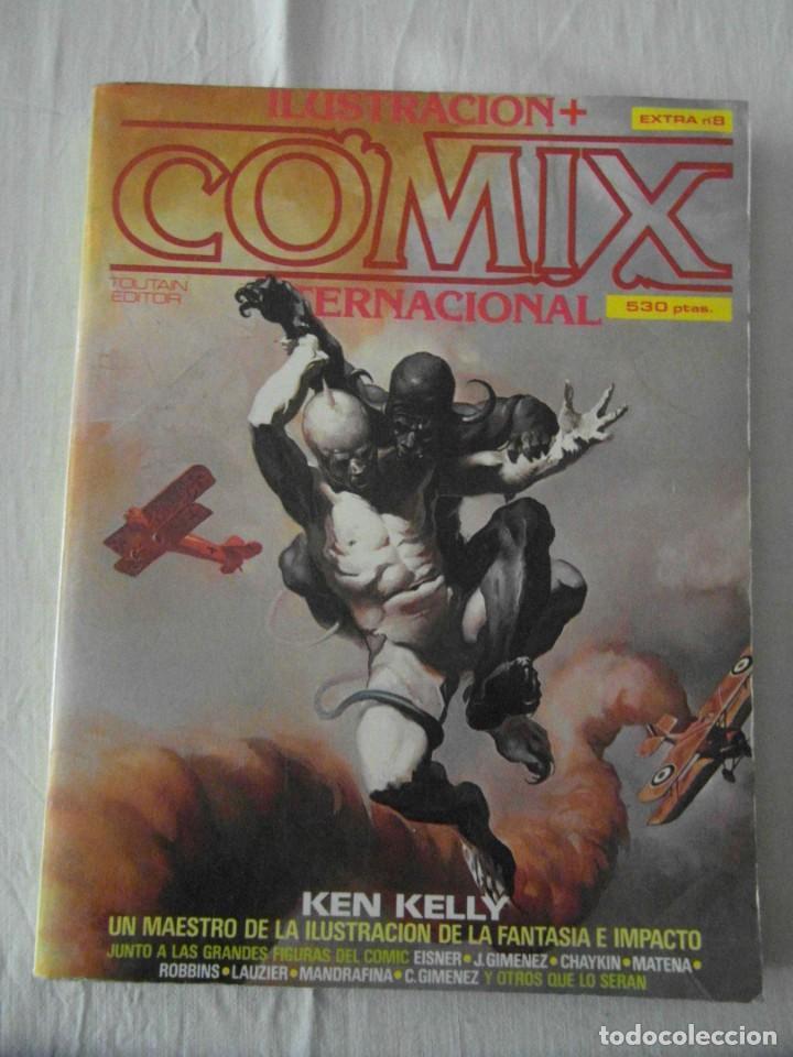COMIX EXTRA Nº 8. TOUTAIN (Tebeos y Comics - Toutain - Comix Internacional)