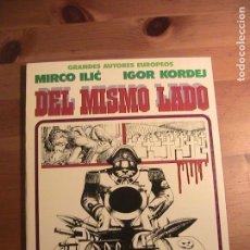 Cómics: DEL MISMO LADO. TOUTAIN, 1981.. Lote 154666218