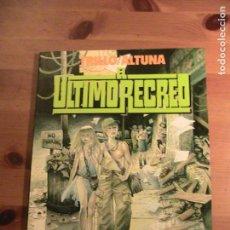 Cómics: TRILLO/ALTUNA. EL ULTIMO RECREO. TOUTAIN, 1989.. Lote 154667130