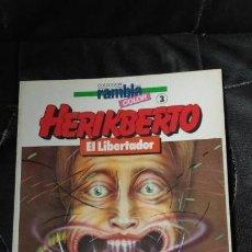 Cómics: EL LIBERTADOR RAMBLA COLOR 3 HERIKBERTO . Lote 154776682