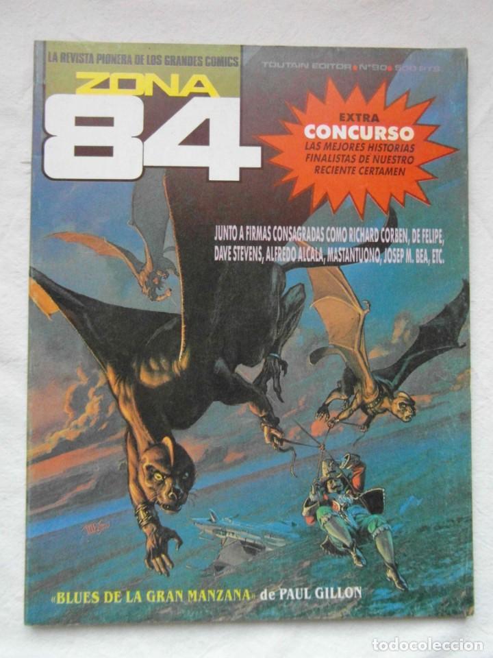 ZONA 84 Nº 90. TOUTAIN (Tebeos y Comics - Toutain - Zona 84)