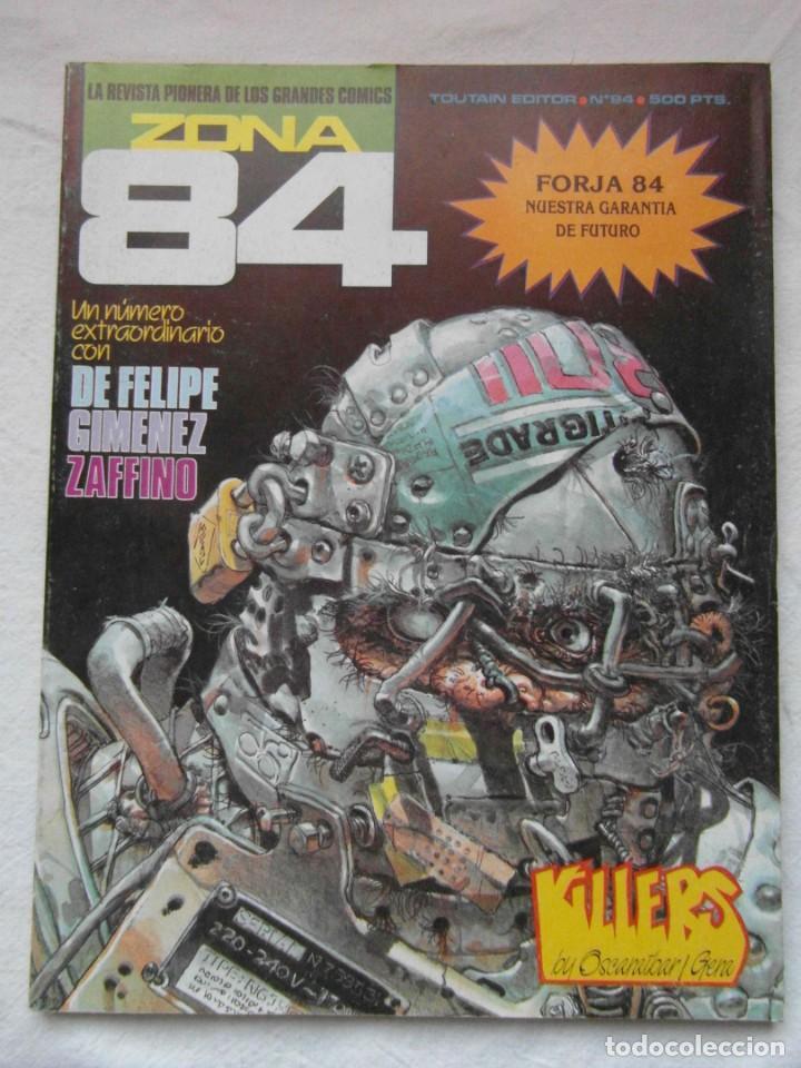 ZONA 84 Nº 94. TOUTAIN (Tebeos y Comics - Toutain - Zona 84)