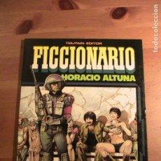 Cómics: ALTUNA. FICCIONARIO. TOUTAIN, 1985.. Lote 154783682