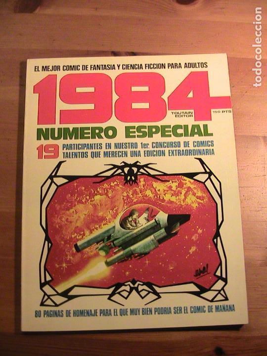 1984. NÚMERO ESPECIAL : 19 PARTICIPANTES EN NUESTRO 1ER. CONCURSO DE COMICS (Tebeos y Comics - Toutain - Álbumes)