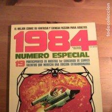 Cómics: 1984. NÚMERO ESPECIAL : 19 PARTICIPANTES EN NUESTRO 1ER. CONCURSO DE COMICS. Lote 154819418