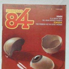 Cómics: ZONA 84 Nº 24. TOUTAIN. Lote 154838774