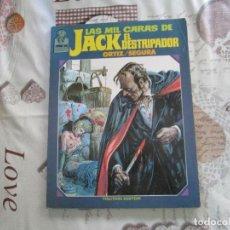Cómics: LAS MIL CARAS DE JACK EL DESTRIPADOR JOYAS DE CREEPY TOUTAIN EDITOR. Lote 155343174